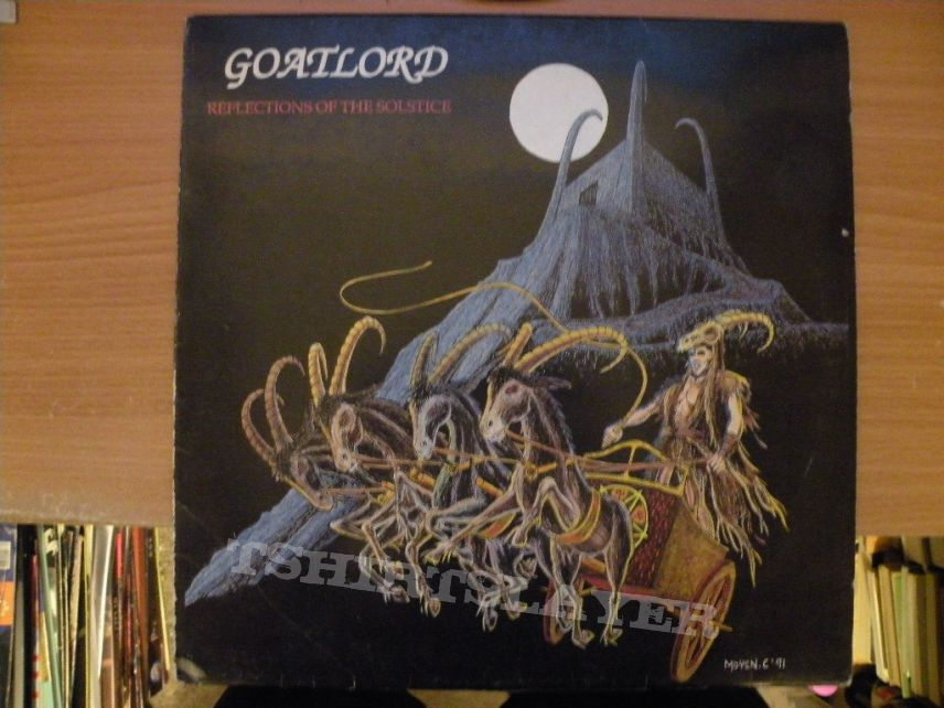 Goatlord- Reflections of the solstice lp