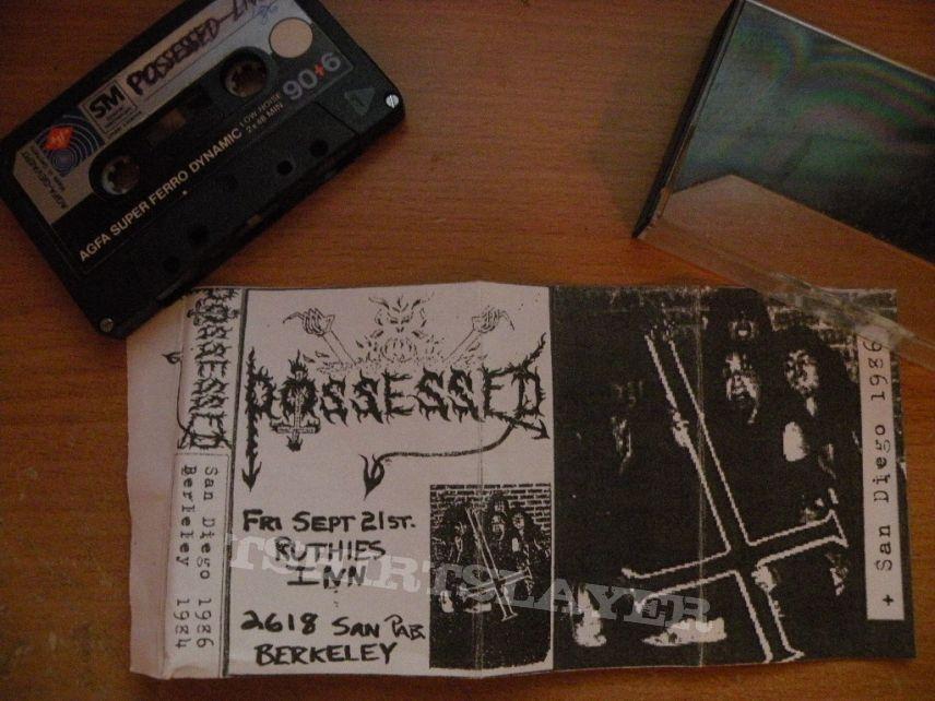 Possessed bootleg live tape