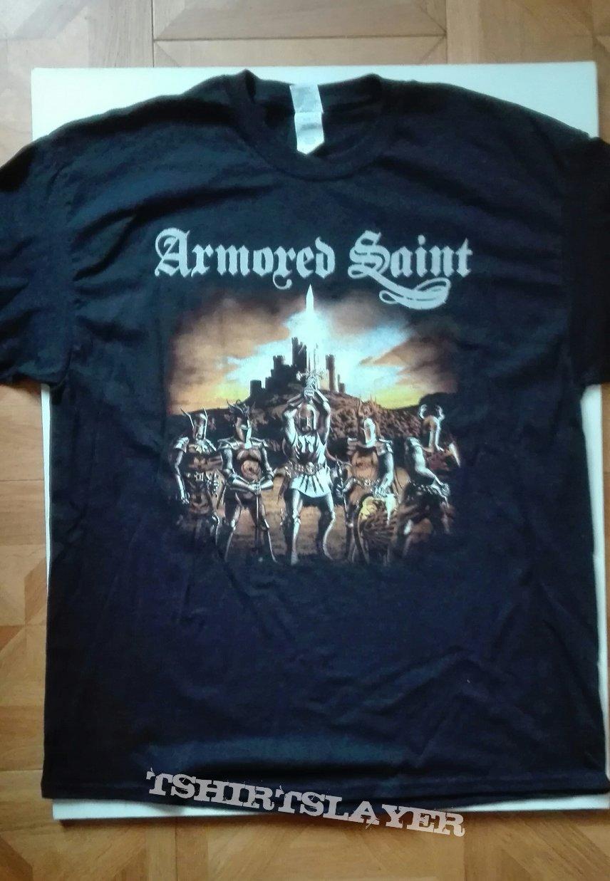 Armored Saint 2019 European tourshirt