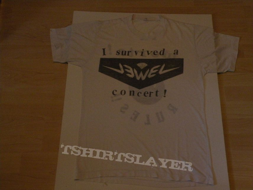 TShirt or Longsleeve - Jewel- I survived a Jewel concert shirt