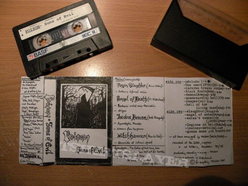 original Poison- Sons of evil demo; released in 1984