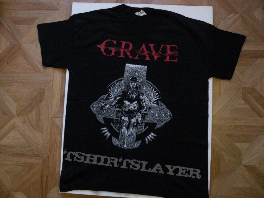 Grave 1995 tourshirt