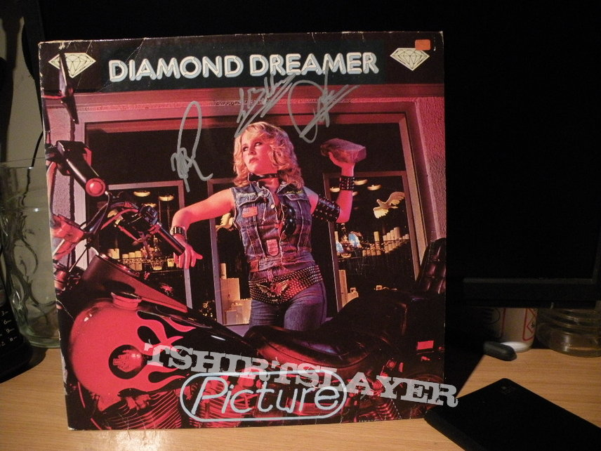 signed Picture- Diamond dreamer lp