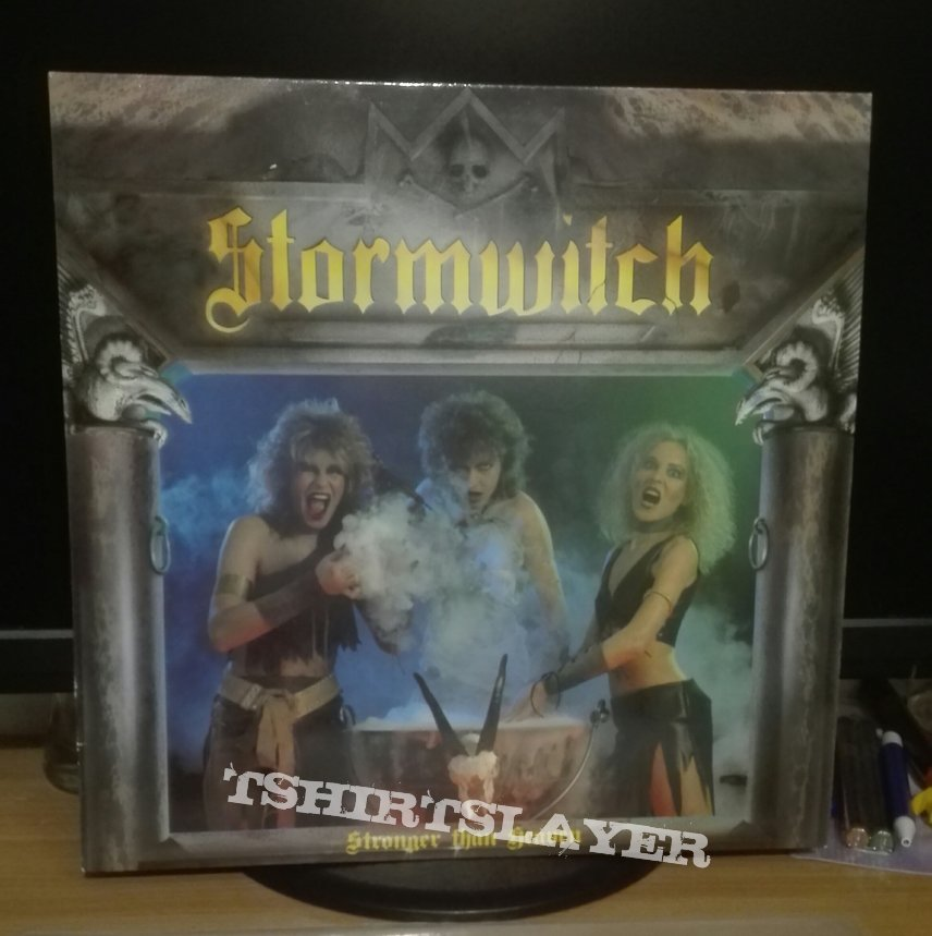 Stormwitch- Stronger than heaven lp