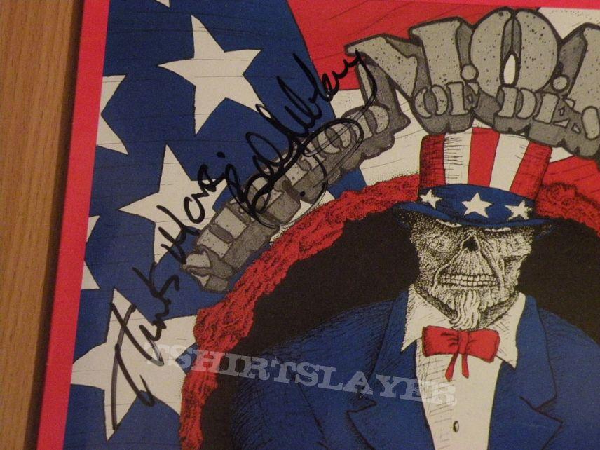 signed M.O.D.- U.S.A. for M.O.D. lp
