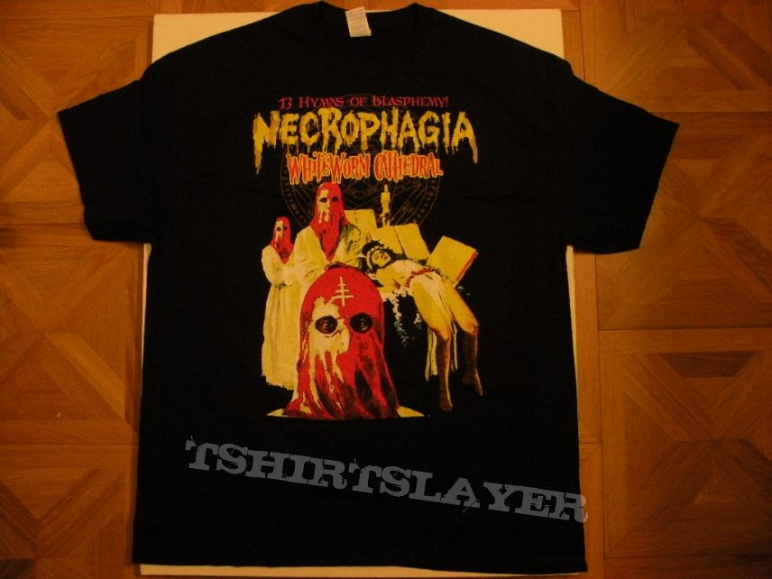 Necrophagia- Whiteworm cathedral shirt