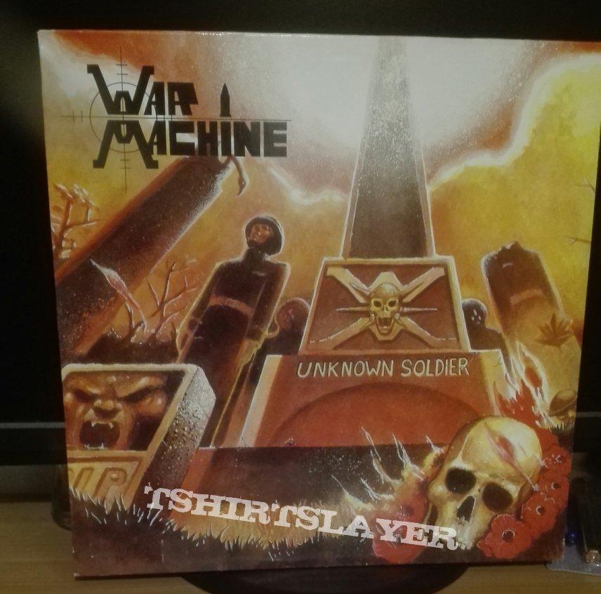 War Machine- Unknown soldier lp