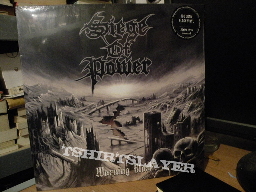 Siege Of Power- Warning blast lp