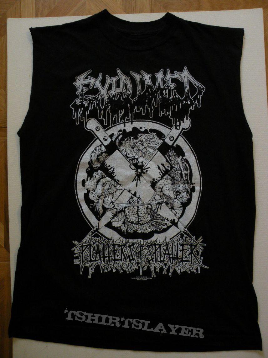 Exhumed- Platters of splatter shirt