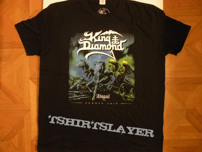 King Diamond- 2019 European tourshirt