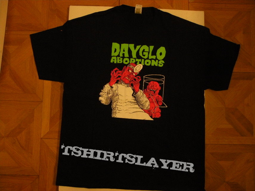 Dayglo Abortions shirt