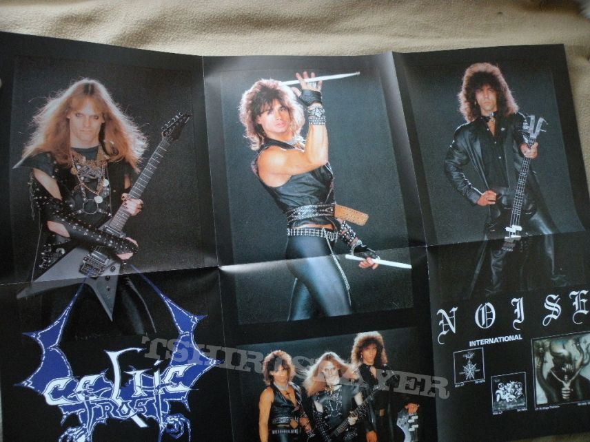 Celtic Frost To Mega Therion Lp Tshirtslayer Tshirt And