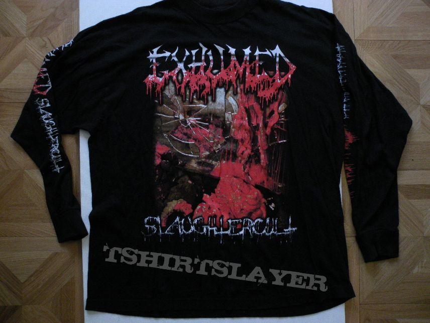 Exhumed- Slaughtercult longsleeve
