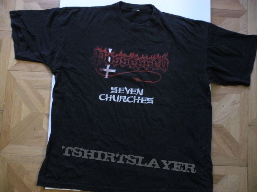 Possessed- Seven churches shirt