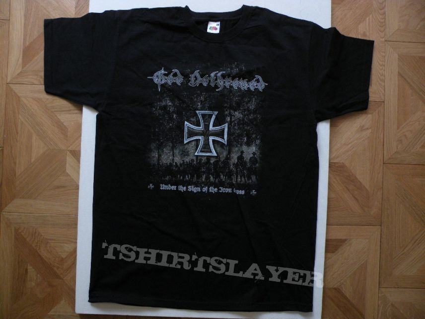 God Dethroned- Under the sign of the iron cross shirt