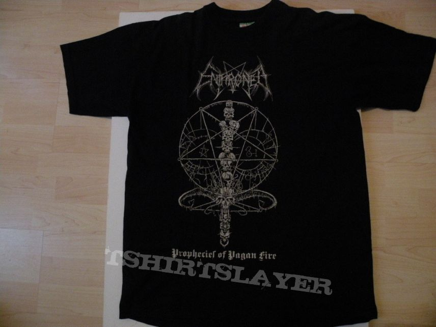 Enthroned- Prophecies of pagan fire shirt