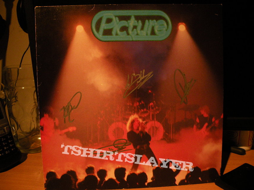 signed Picture- Picture lp