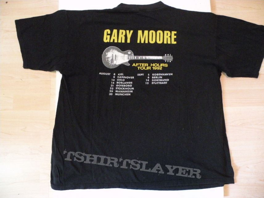 Gary Moore- After hours 1992 tourshirt