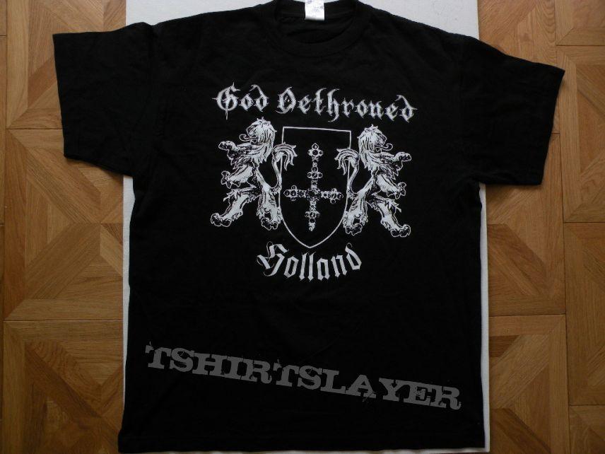 God Dethroned 2009 tourshirt