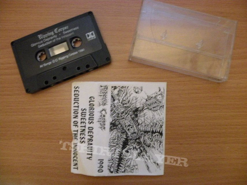 Other Collectable - original Ripping Corpse- Glorious depravity demo