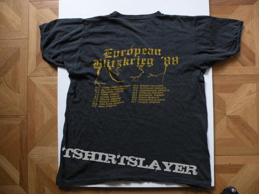 Nasty Savage- European Blitzkrieg '88 tourshirt