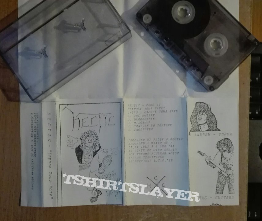 original Hectic- Expose your hate demo