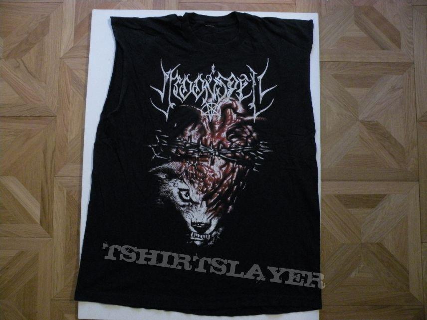 Moonspell 1995 tourshirt