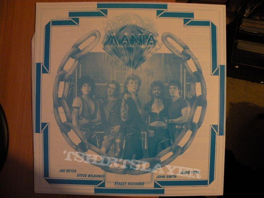 Mania- No lullabies lp