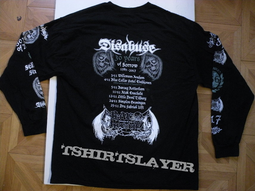 Disabuse- Death machines 2017 tour longsleeve
