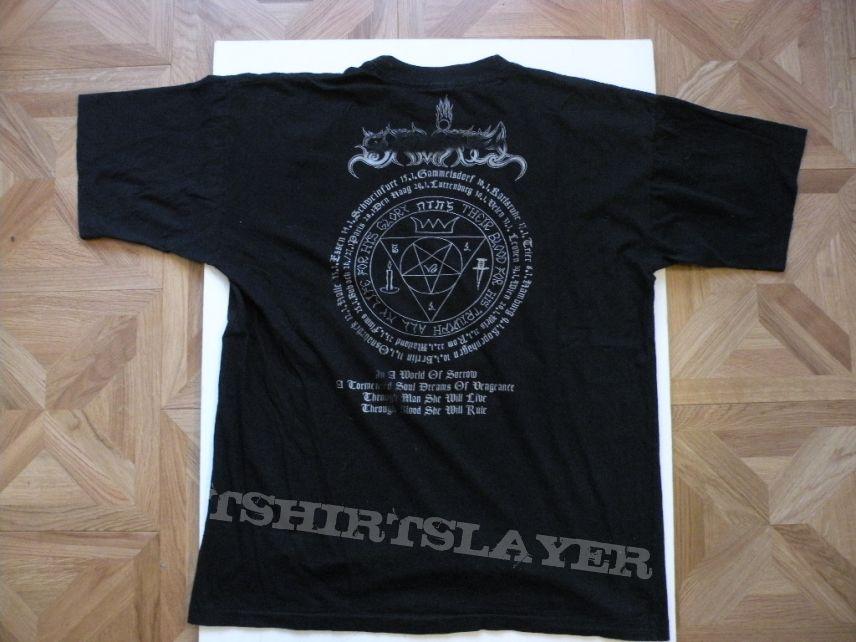 Samael- Blood ritual 1993 tourshirt