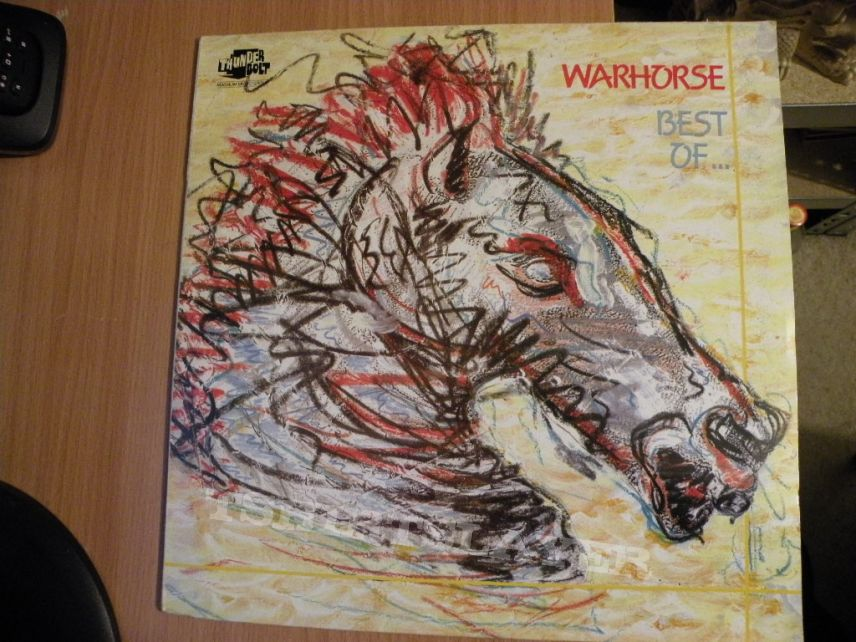 Warhorse- The best of Warhorse compilation lp