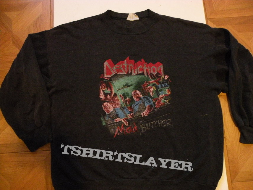 Destruction- Mad butcher sweater