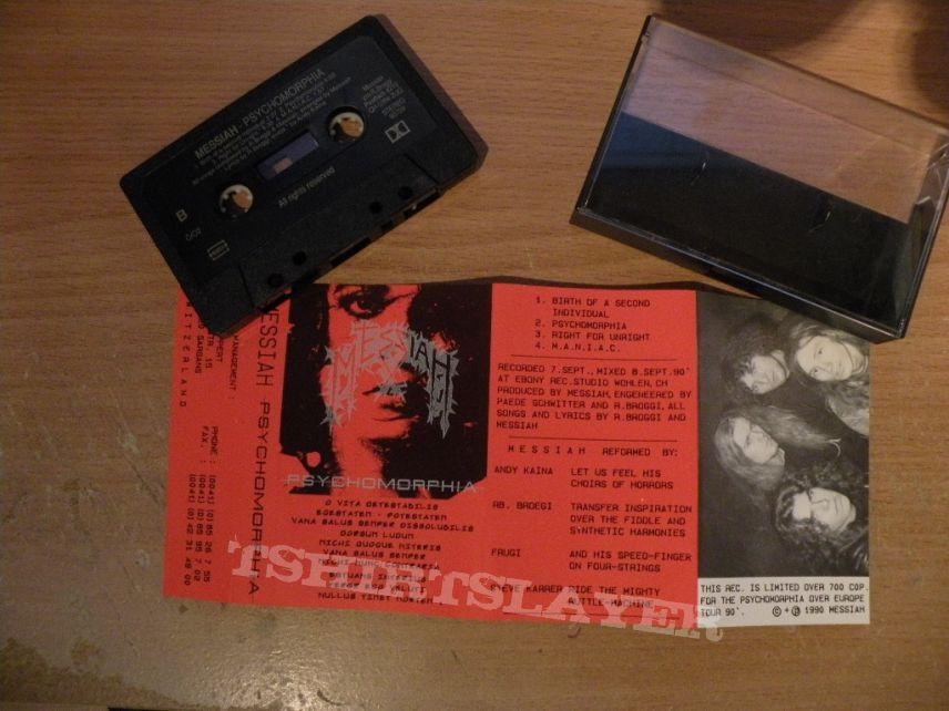 original Messiah- Psychomorphia cassette MLP/ demo