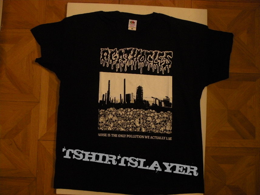 Agathocles- Noise is the only pollution we actually like shirt