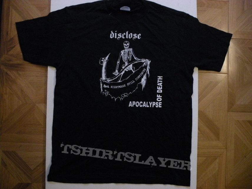 Disclose- Apocalypse of death shirt