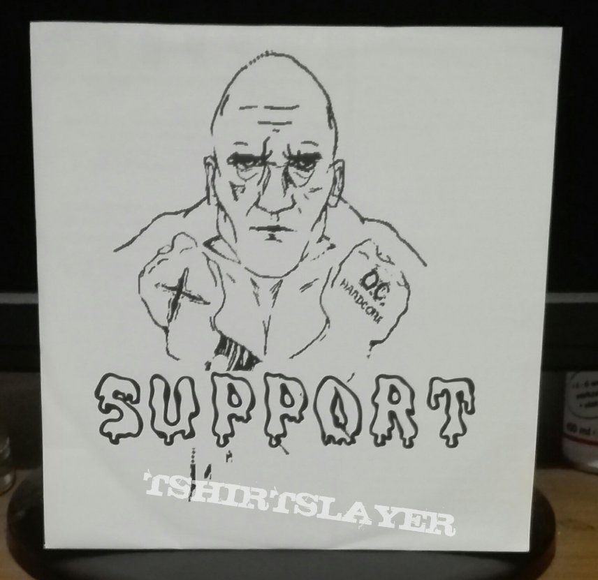 """Support- Can't leave it behind 7"""" ,limited edition"""