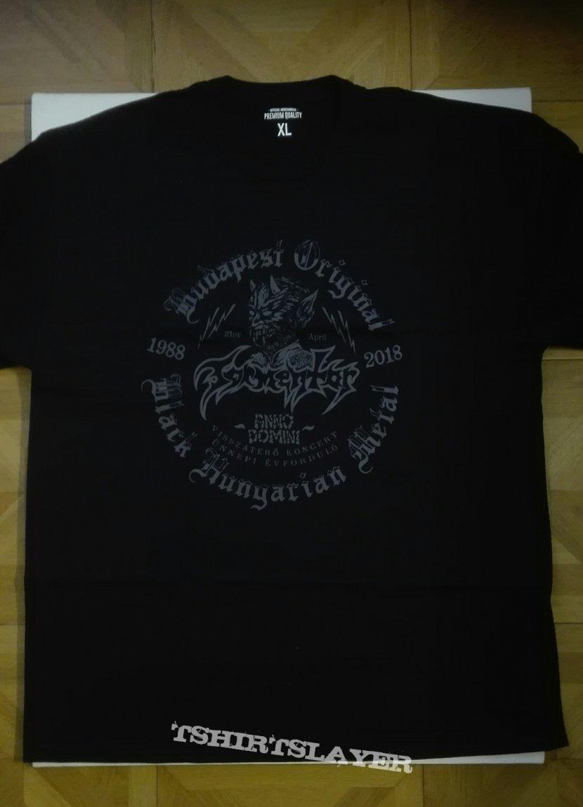 Tormentor- 2018 Budapest event shirt