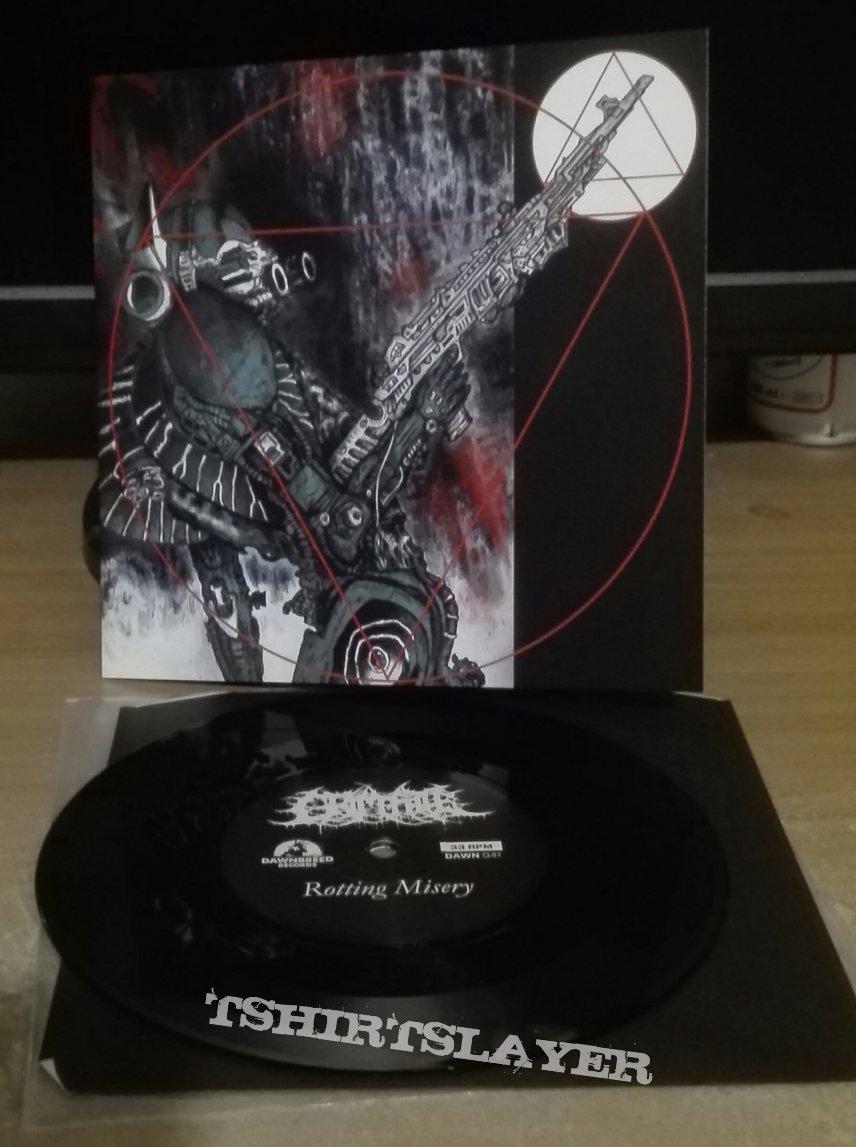 """Grim Fate/ Entrapment- Paradise Lost tribute split 7"""""""