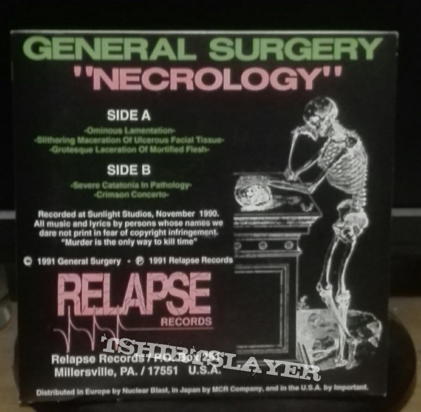 """General Surgery- Necrology 7"""""""