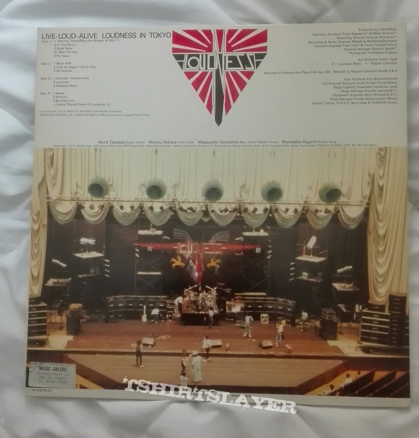 Loudness- Live, loud, alive ( Loudness in Tokyo) lp