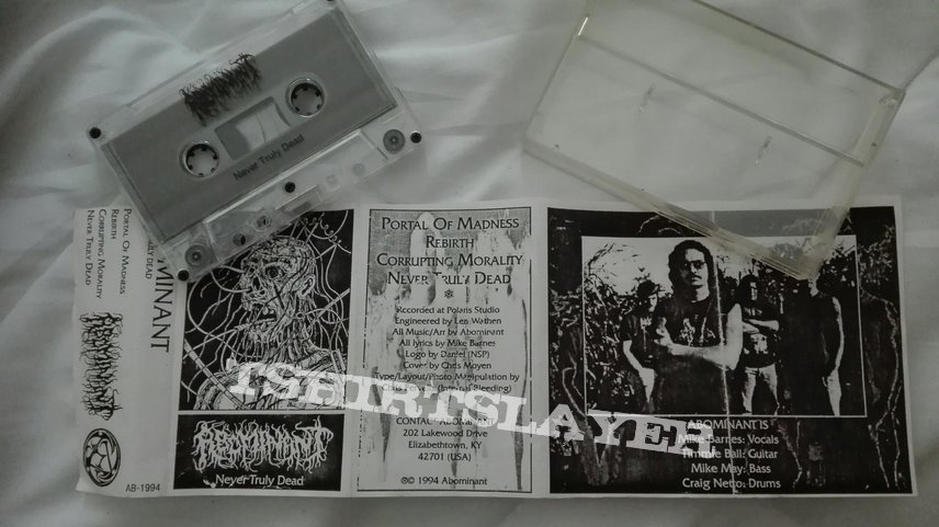 original Abominant - Never truly dead demo