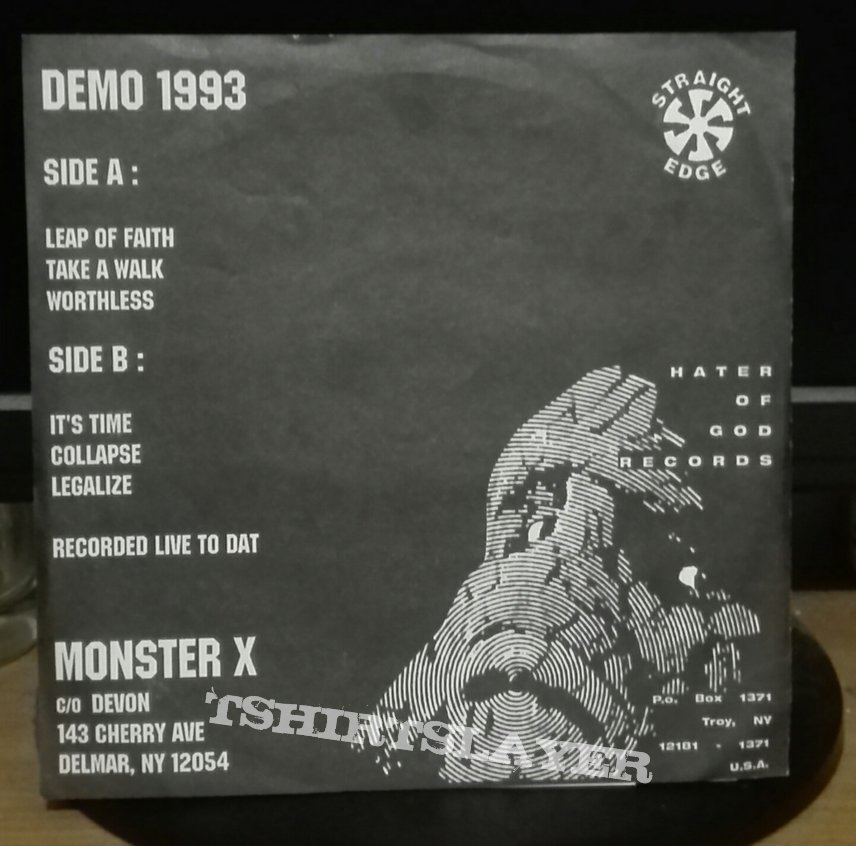 Monster X- Demo 1993 7""