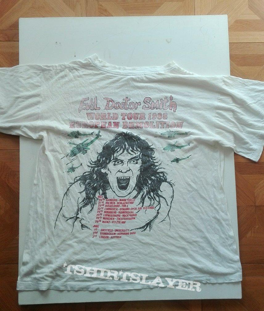 Lååz Rockit European demolition 1988 tourshirt