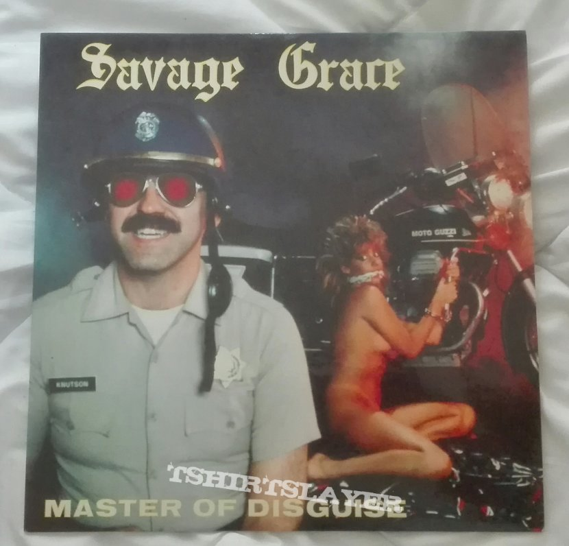 Savage Grace- Master of disguise lp