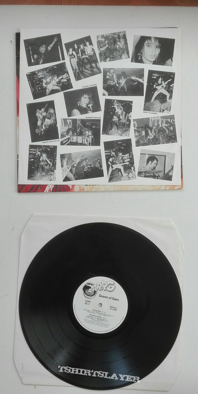 Holy Moses- Queen of Siam lp