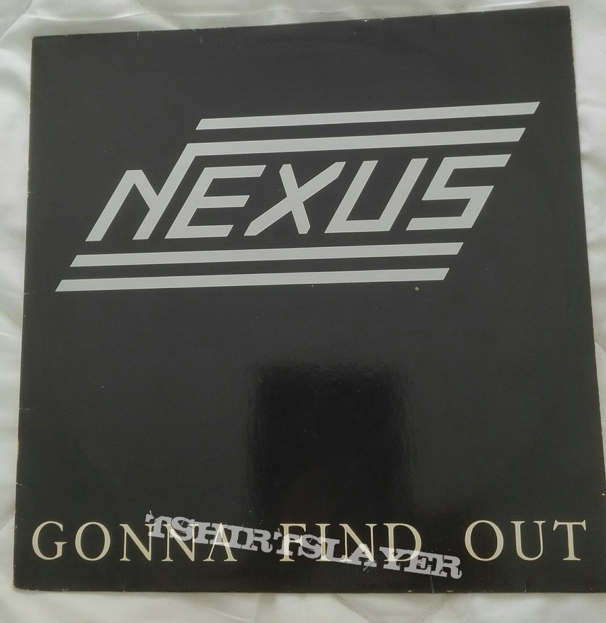 signed Nexus- Gonna find out lp