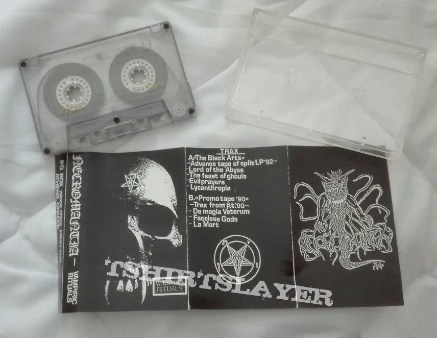 original Necromantia- Vampiric rituals promo/ advance tape