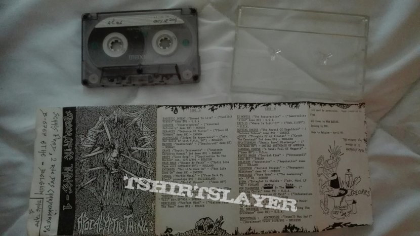 original Apocalyptic things #1 compilation tape