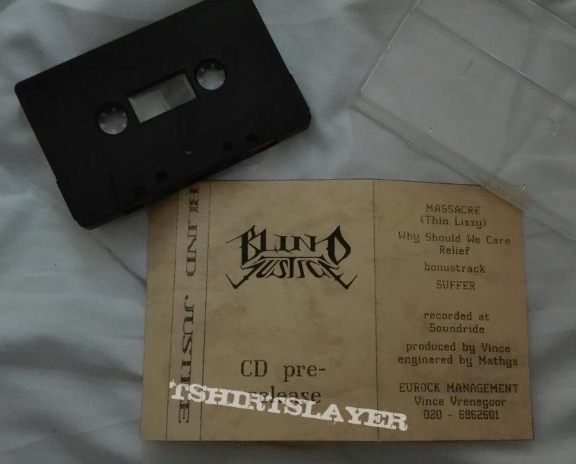 Original Blind Justice cd pre-release tape