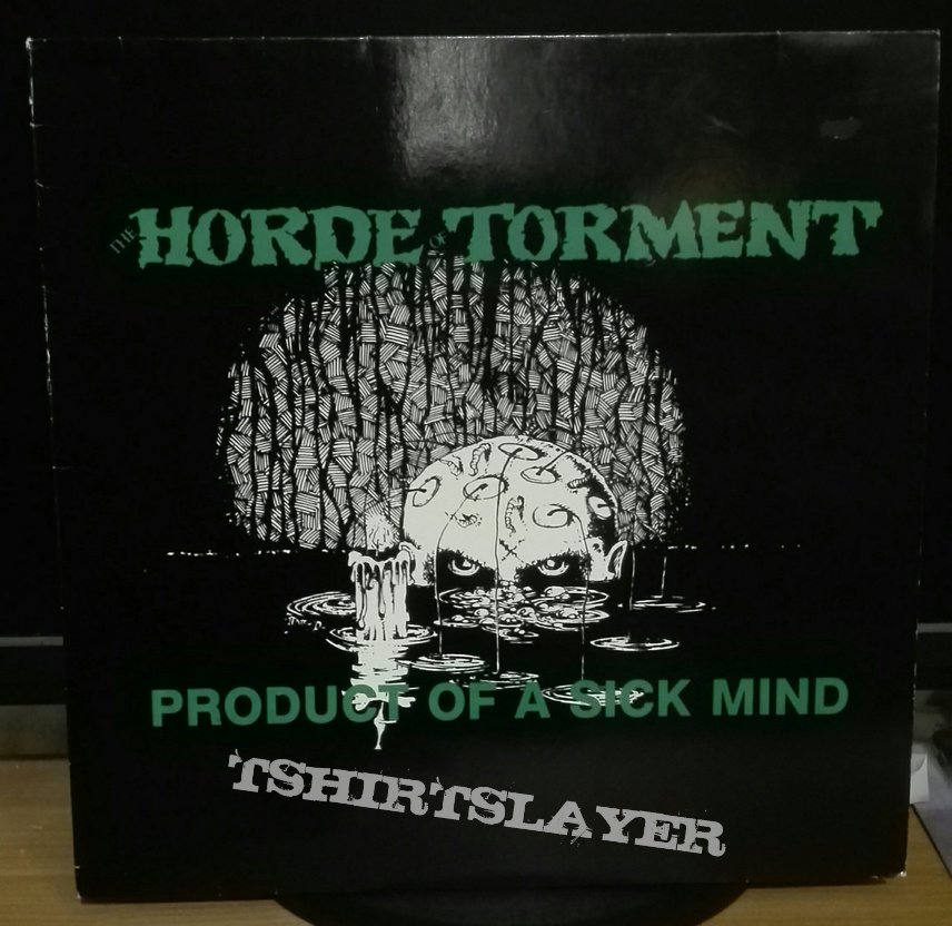 Horde Of Torment- Product of a sick mind compilation lp